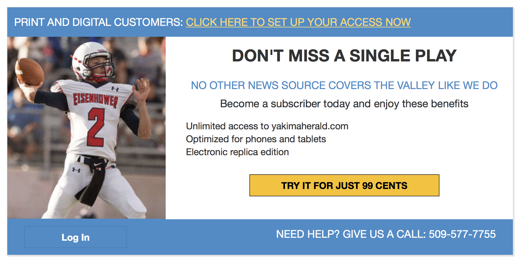 Examples of nice Paywall screens / General / TownNews